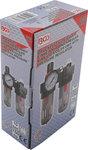 Druckluft-Filter/Öler-Einheit mit Druckregler