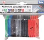 Unterlegkeile, 24-tlg., Kunststoff