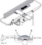 Tragbare Hobelmaschine Dicke 305mm - 2mm