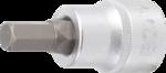 Bit-Einsatz Antrieb Innenvierkant 20 mm (3/4) Innensechskant