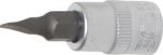 Bit-Einsatz Antrieb Innenvierkant 6,3 mm (1/4) Schlitz