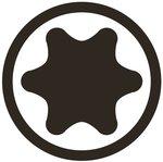 Steckschlüsseleinsatz 12,5 mm (1/2) T-Profil (für Torx)