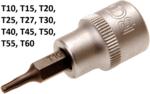 Bit-Einsatz Antrieb Innenvierkant 10 mm (3/8) T-Profil (fur Torx)