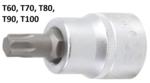 Bit-Einsatz Antrieb Innenvierkant 20 mm (3/4) T-Profil (für Torx)