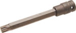 Kraft-Bit-Einsatz Lange 140mm Antrieb Innenvierkant (1/2) Innenvielzahn (fur XZN) M12