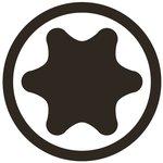Bit Antrieb Außensechskant (3/8) T-Profil (fur Torx)