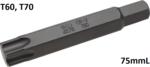 Bitlänge 75mmL 14 mm Außensechskant T-Profil (fur Torx)