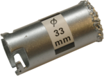 Fliesen-Bohrkronen-Satz 33 - 73mm 6-tlg