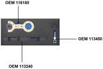 Doppelvanos-Einstellwerkzeug-Satz für BMW M52TU / M54 / M56