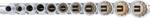 Steckschlussel-Einsatz-Satz Zwolfkant, tief Antrieb Innenvierkant (3/8) Zollgroßen 11-tlg
