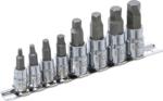 Schraubenausdreher-Satz Antrieb (1/4) / (3/8) fur defekten Innensechskant 3 - 10mm 8-tlg