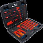 VDE-Steckschlussel-Werkzeugkoffer 26-tlg