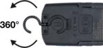 COB-LED-Werkstattleuchte mit Magnet und Haken klappbar mit induktiver Ladefunktion
