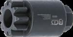 Schwungrad- / Kurbelwellen-Drehwerkzeug fur Volvo / Renault MP8 / MP10 / D13A