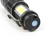 Taschenlampe Mini 2xCOB LED mit Fokussierungsfunktion, wiederaufladbar