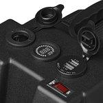 Batteriebox 30x20x20cm 2x USB - 1x 12V Steckdose - Voltmeter - 2x Anderson Stecker