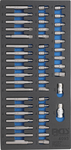 Werkstattwagen Azubi 4 Schubladen mit 151 Werkzeugen