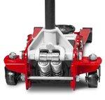 Hydraulischer Wagenheber extra niedrig, Doppelpumpe 2,5 Tonnen