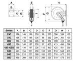 Aufroller Druckluft Wasser 20 bar Stahl 3/8, 18m