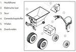 Elektrischer Minidumper 500kg Gasfeder