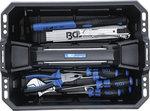Werkzeugkoffer Verstarktes Kunststoff-Werkzeugsortiment 11-tlg