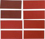 Schleifblatt-Satz fur Schwingschleifer / Handschleifer 93 x 230 mm K 60 - 180 25-tlg