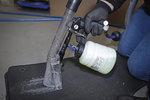 Druckluft-Reinigungspistole mit Bursten- und Saugaufsatz 7-tlg