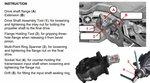 Differentialflansch- & Einlegemutter-Werkzeug-Satz fur BMW E70, E82, E90, E91, E92, E93