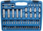 Steckschlüssel-Satz Wellenprofil Antrieb 6,3 mm (1/4) / 12,5 mm (1/2) 108-tlg