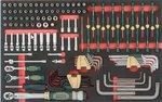 8-Schubladenwagen mit 405pc Werkzeugen (EVA)