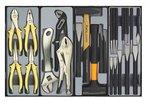 8-Schubladenwagen mit Werkzeugen 376pc