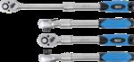 Umschaltknarre, ausziehbar Abtrieb Außenvierkant 12,5 mm (1/2) 305 - 445 mm