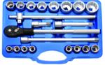 Steckschlüssel-Satz Zwölfkant | Antrieb 20 mm (3/4) | 21-tlg.