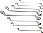 Doppel-Ringschlüssel-Satz | gekröpft | SW 6x7 - 20x22 mm | 8-tlg.