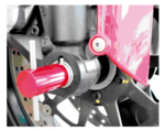 Vorderachsen-Ausrichtwerkzeug für Ducati Ø 30 mm