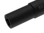 Steckschlüssel-Einsatz E-Profil, extra lang Antrieb Außensechskant 22 mm SW E18
