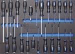 Werkstattwagen 8 Schubladen mit 296 Werkzeugen