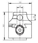 Universal-Bohrkopf ohne automatische Fütterung KKC2 50mm