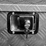 Werkzeugbox Aluminium für Anhänger 700/380 x 240 x H420mm