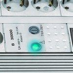 Premium-Line Überspannungsschutz 8 fach Duo lichtgrau 3m