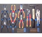 Werkstattwagen Profi Standard Maxi mit 263 Werkzeugen