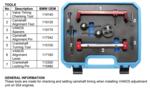Motor-Einstellwerkzeug-Satz für BMW S54 8-tlg