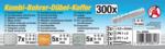 Kombi-Bohrer-Dübel-Koffer 300-tlg