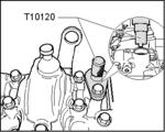 Kurbelwellen-Verriegelungswerkzeug von BGS 8155