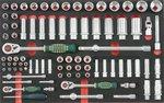8-Schubladenwagen mit 308pc Werkzeugen (EVA)