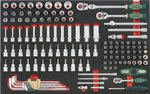 8-Schubladenwagen mit 326pc Werkzeugen (EVA)