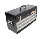 Metall-Werkzeugkasten, leer, 3 Schubladen
