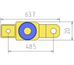 Motorrad-Batterie-Trennen-Adapter