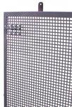 Perfopaneel Metall grau 200x94cm