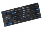 Metall-Werkzeugkoffer 3 Schubladen mit 143 Werkzeugen